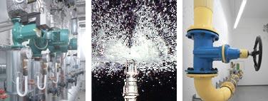 Gas-, Wasser-, Abwasser- und Feuerlöschtechnik