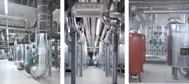 Wärmeversorgungs-, Brauchwassererwärmungs- und Raumlufttechnik